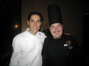Chef Alex and Chef Miguel