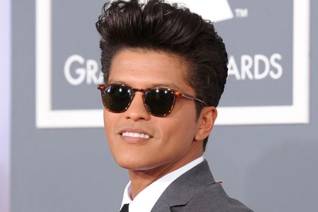 Bruno mars is hispanic