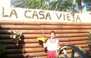 Caty at La Casa Vieja