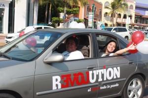 Love Revolution caravan