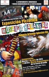 Mosaico Habenero