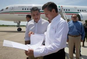 President Pena Visits Zihuatanejo