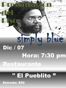 Presentation Simply Blue