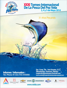 Sailfish Tournament Poster 2014