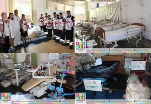 Medical equipment distributed