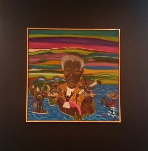 Nelson Mandela by Aydee Rodriquez