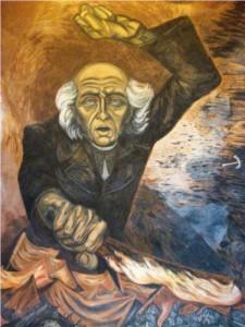 Padre Hidalgo by Jose Clemente Orozco