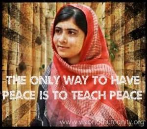Malala - Teach Peace
