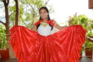 Afro Mexican dress4