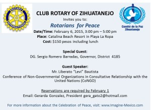 Club Rotary Session of Peace