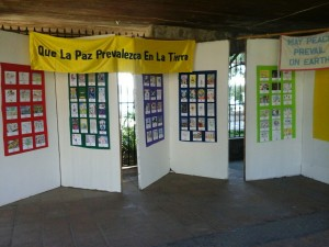 Peace Pals Art Exhibit in Mexico