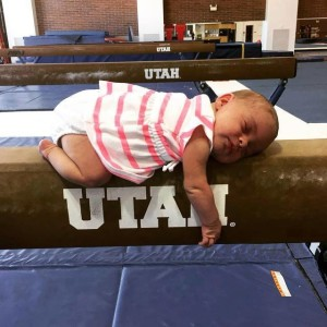 Born to be a gymnast