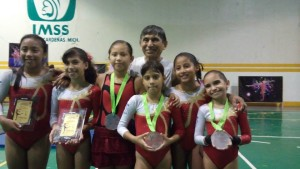 Gymnasts winners