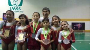 Gymnasts winners
