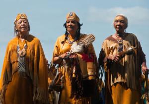 Elder women of the Shinnecock Nation by Andrew Brannan