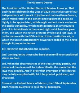 Guerrero Decree