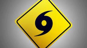 Hurricane Warning Symbol