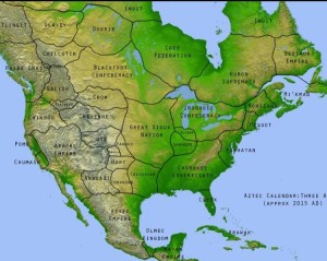Aztec Map of the Americas