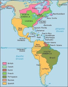 EUOPEAN-COLONIES-AMERICAS-1763