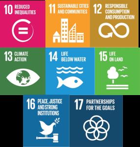 UN Goals 10 - 17