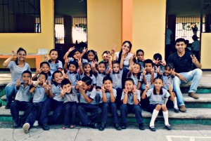 UAGro students at Ninos Heroes School